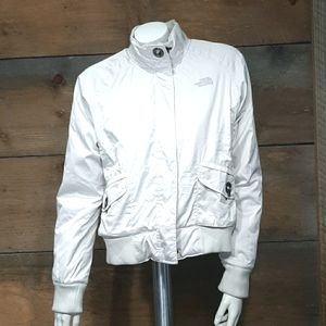 The North Face Bomber Jacket w/ Metal Clasps, Sz M